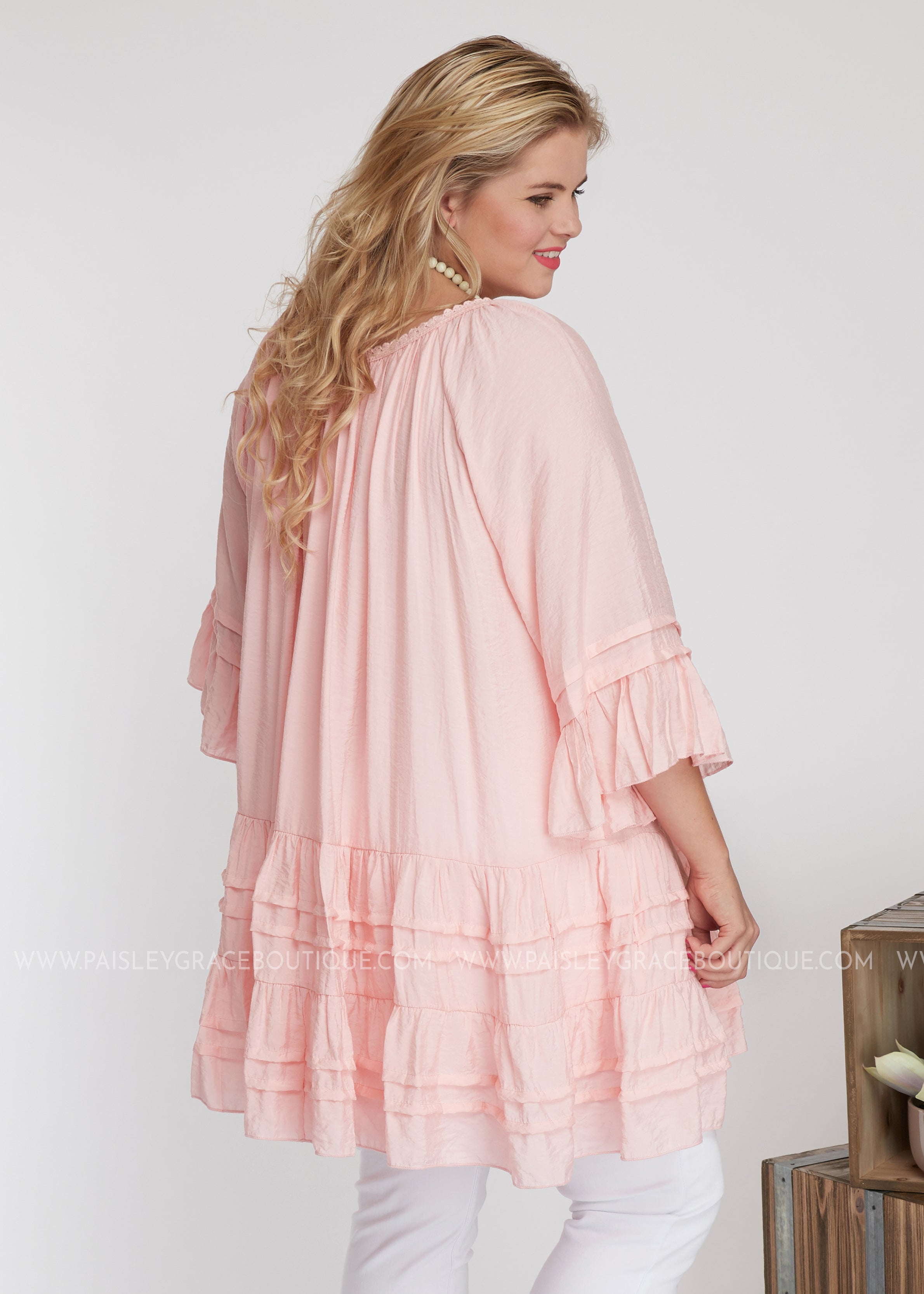 Everly Tunic/Dress -PINK - FINAL SALE