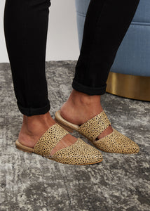 Carina Flats by Corkys-BROWN SPECKLED - FINAL SALE