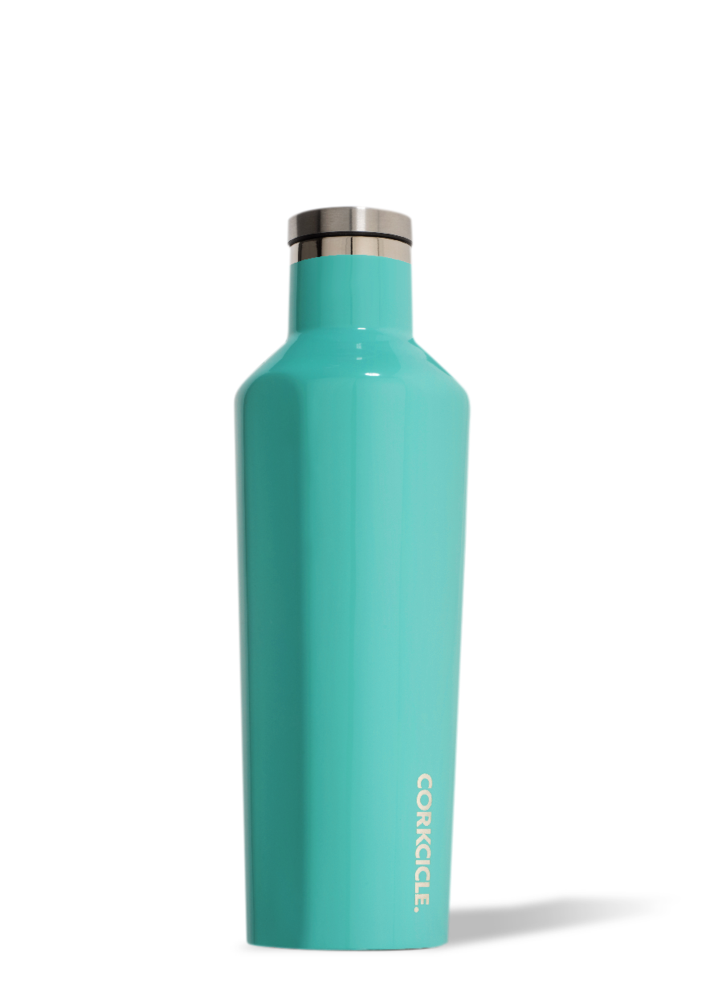 Gloss Turquoise Canteen-16 oz. By Corkcicle