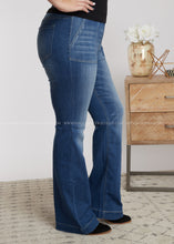 Load image into Gallery viewer, Marley Bell Bottoms- Denim