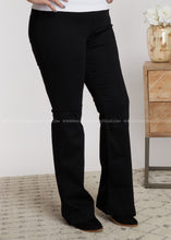Load image into Gallery viewer, Marley Bell Bottoms- Black