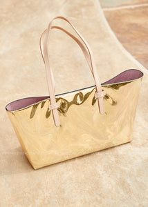 Breezy East West Tote - Goldie Gold
