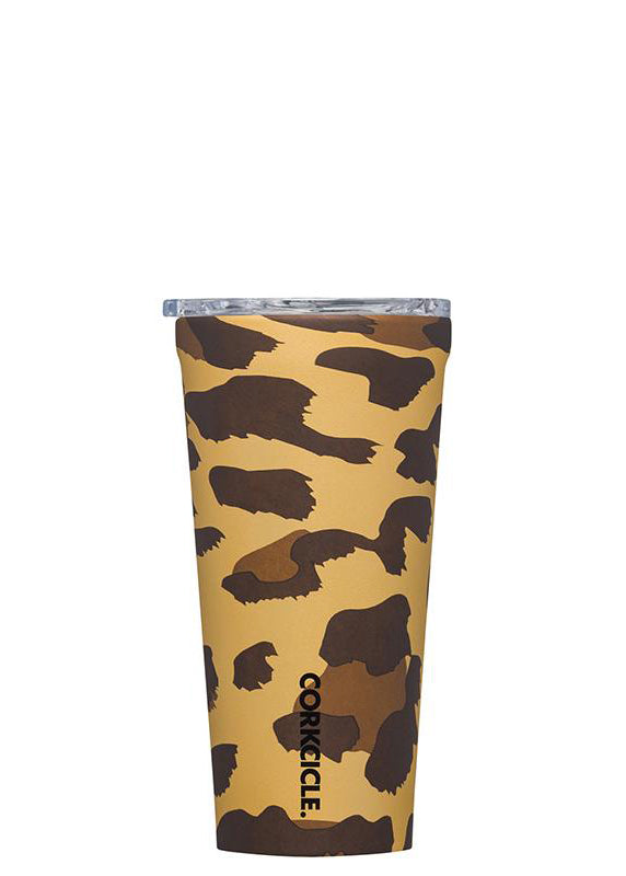 Luxe Leopard Tumbler-16 oz. By Corkcicle