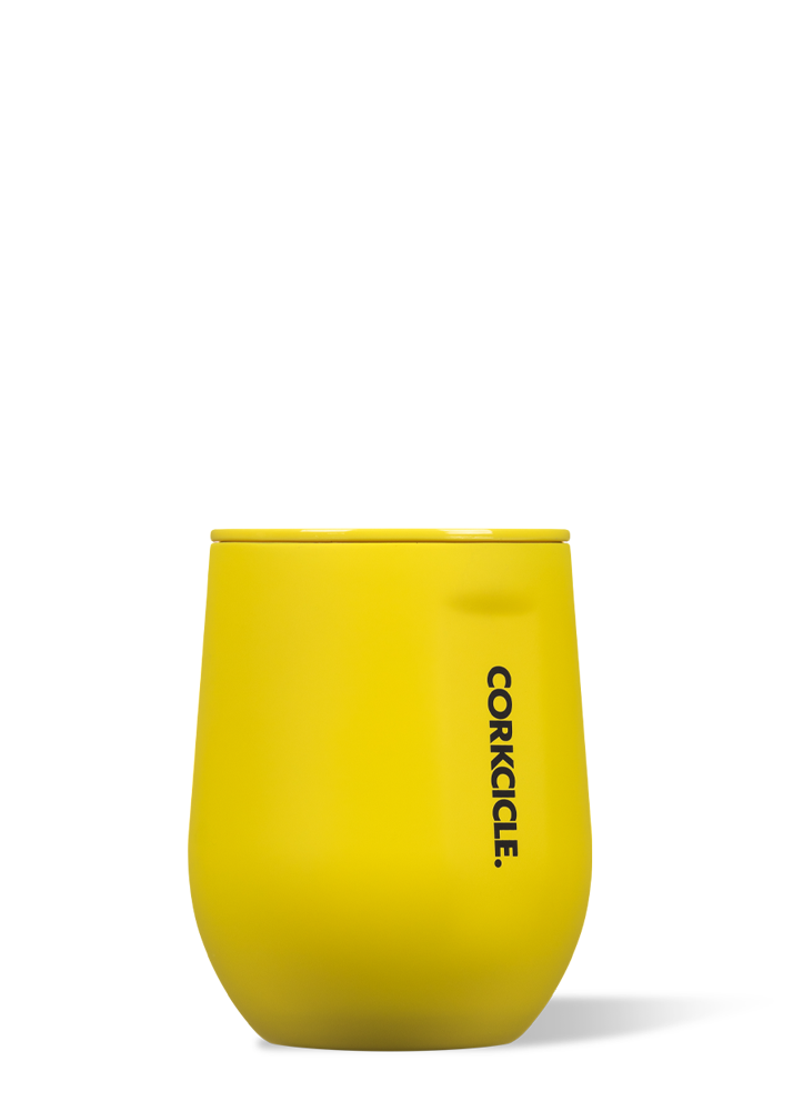 Neon Yellow Stemless-12 oz. By Corkcicle
