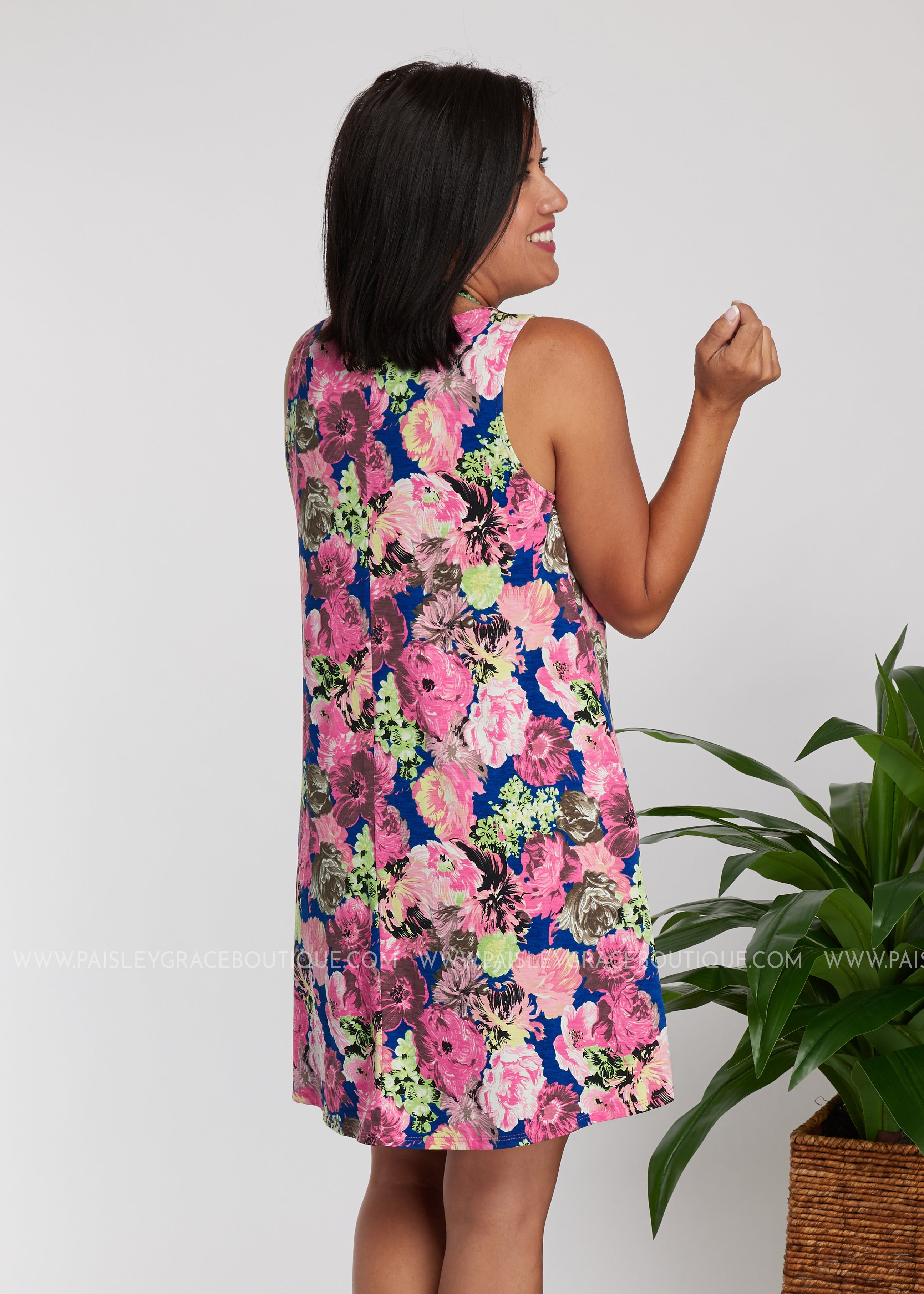 Floral Dreams Dress - PINK - FINAL SALE