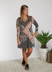 Well Balanced Dress - FINAL SALE