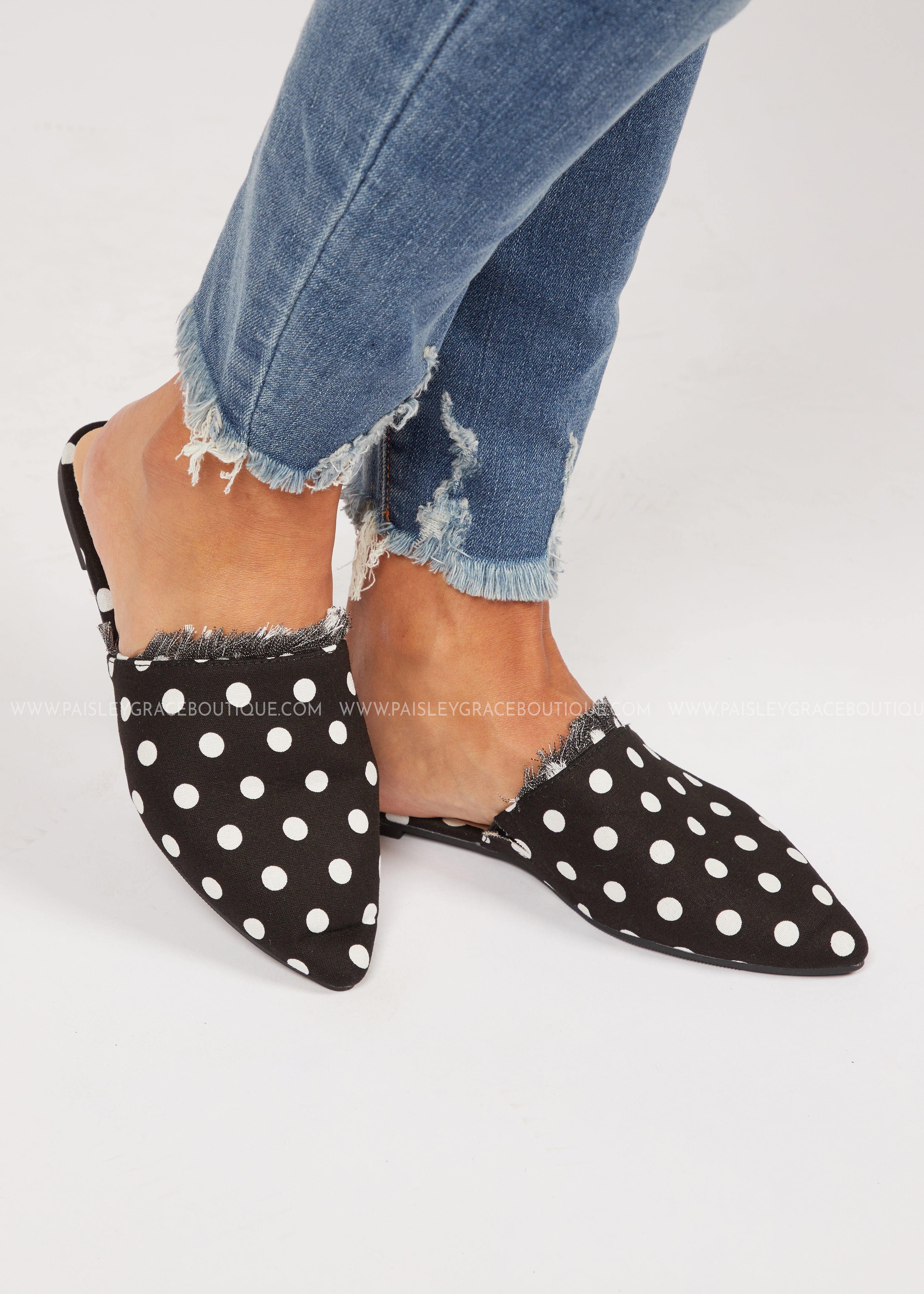 Kennedy Flats- POLKA DOT  - FINAL SALE