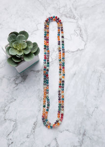 Kaleidoscope Shimmer Strand Necklace