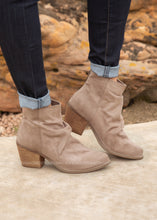 Load image into Gallery viewer, Salta Booties-TAUPE  - FINAL SALE