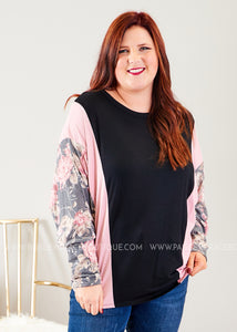 Rose' All Day Top  - FINAL SALE
