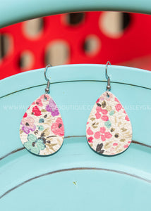 Spring Forward Mini Teardrop Earrings- RESTOCK
