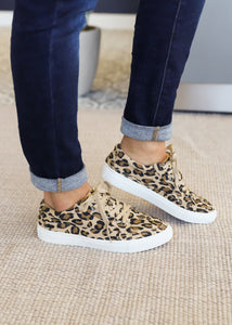 Puzzle Sneaker by Corkys-LEOPARD  - FINAL SALE