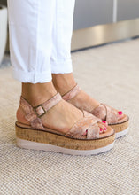 Load image into Gallery viewer, Georgie Wedge Sandal by Corkys-PENNY