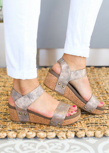Slidell Wedge by Corkys- BRONZE