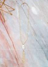 Load image into Gallery viewer, The Perfect Touch Necklace- Cream
