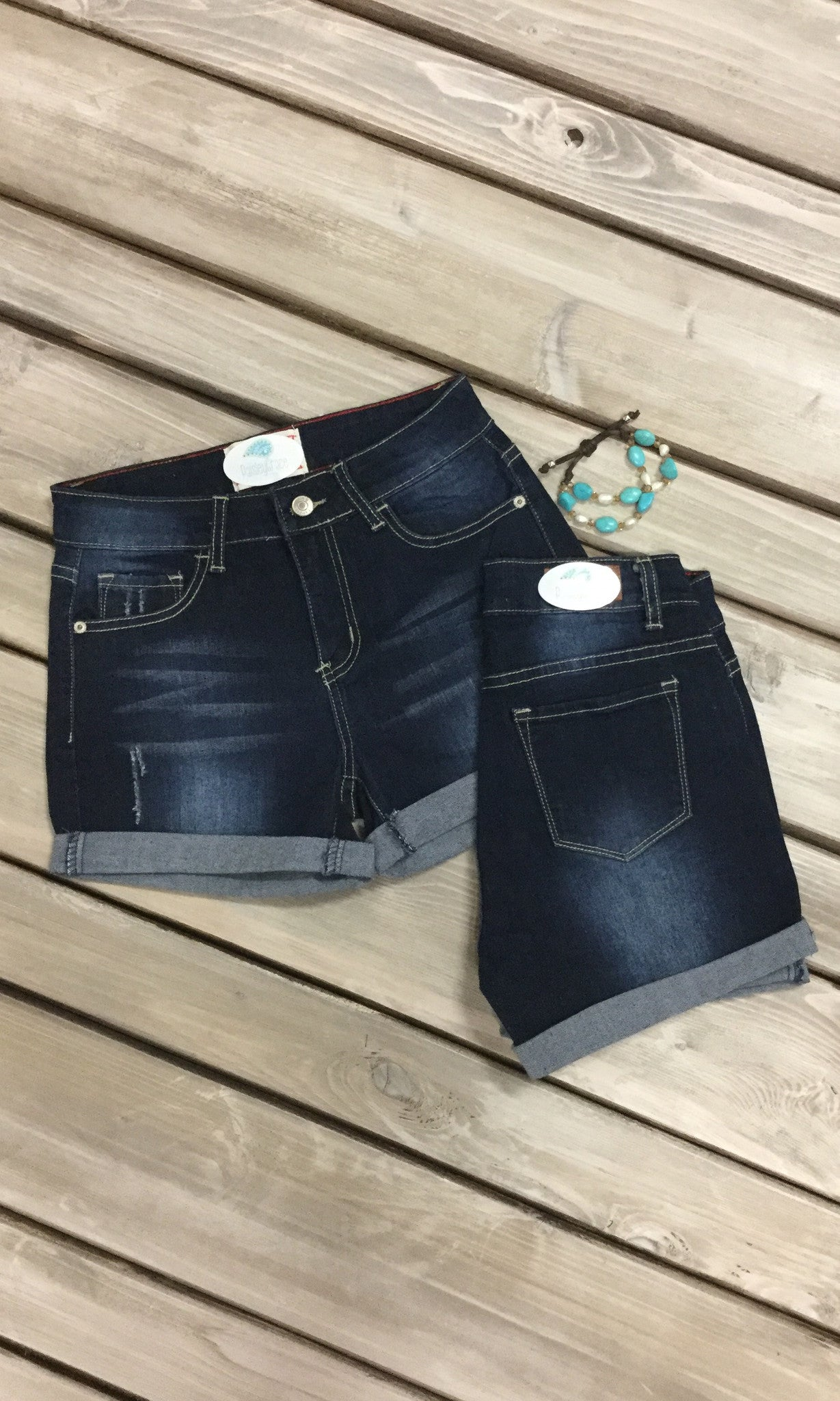Darcy Denim Short - Final Sale