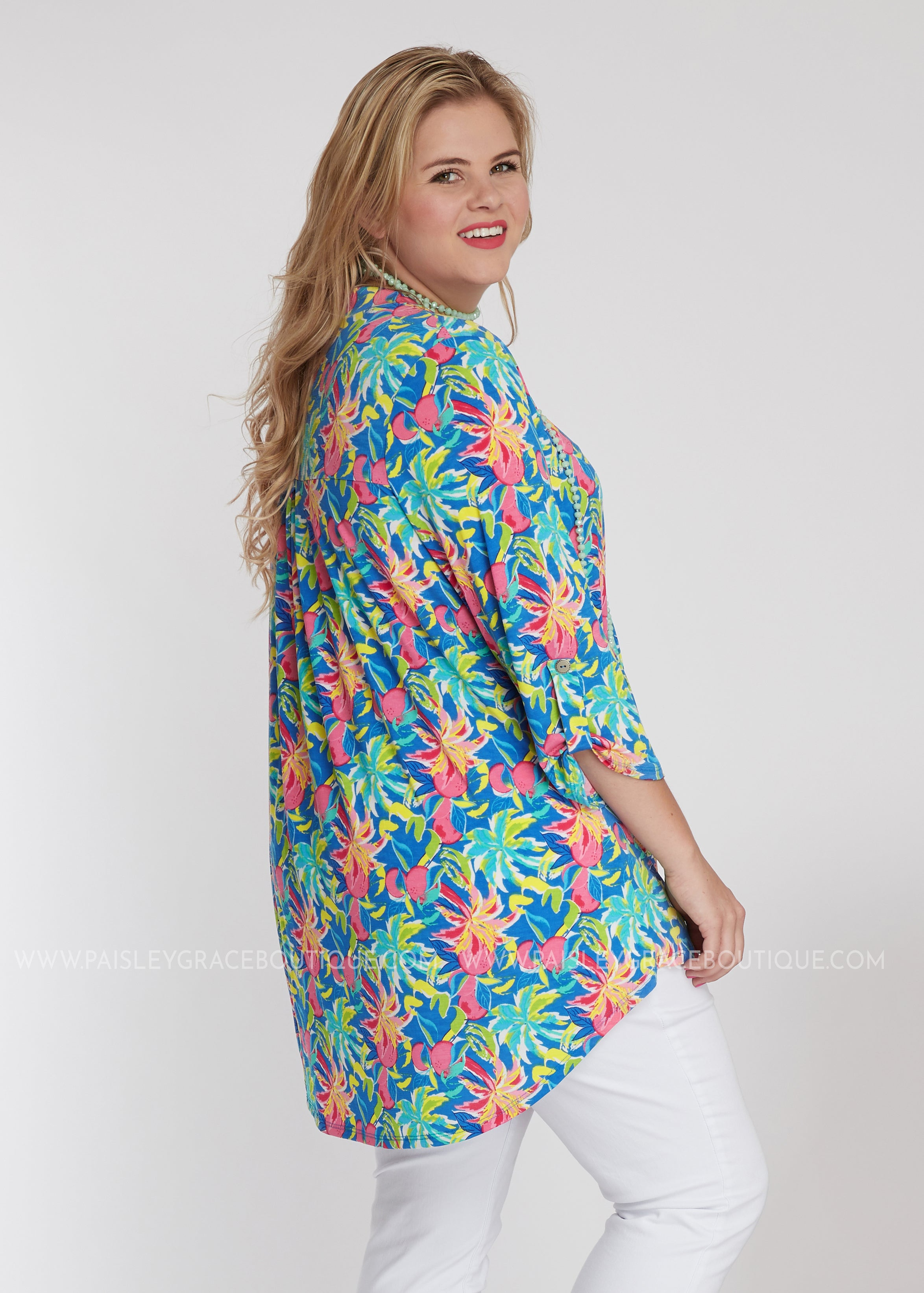 Tahitian Sunrise Top