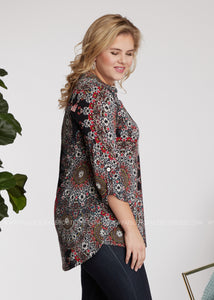 Word Around Town Top - FINAL SALE