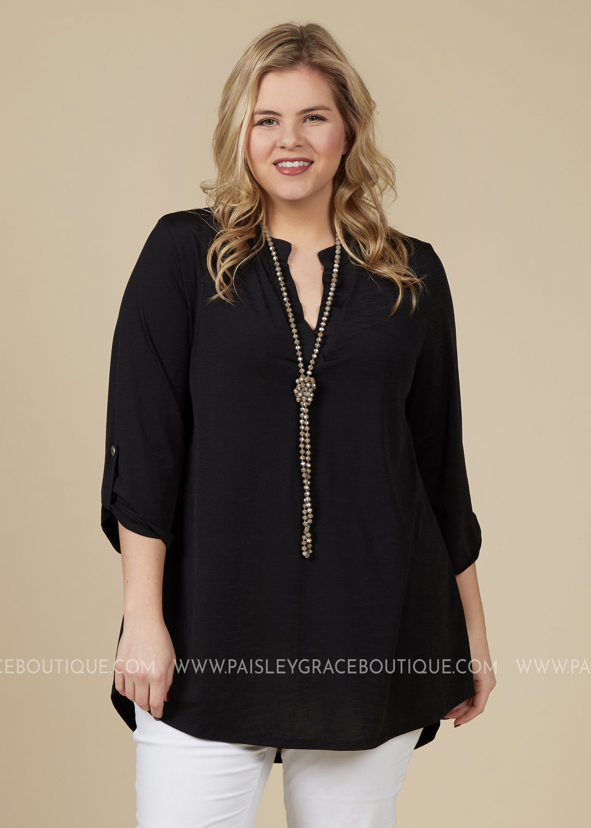 Gabriella Top - BLACK