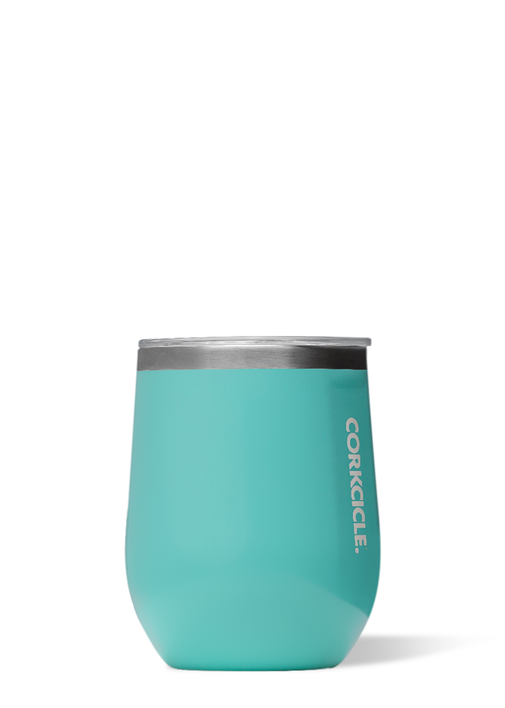 Gloss Turquoise Stemless-12 oz. By Corkcicle