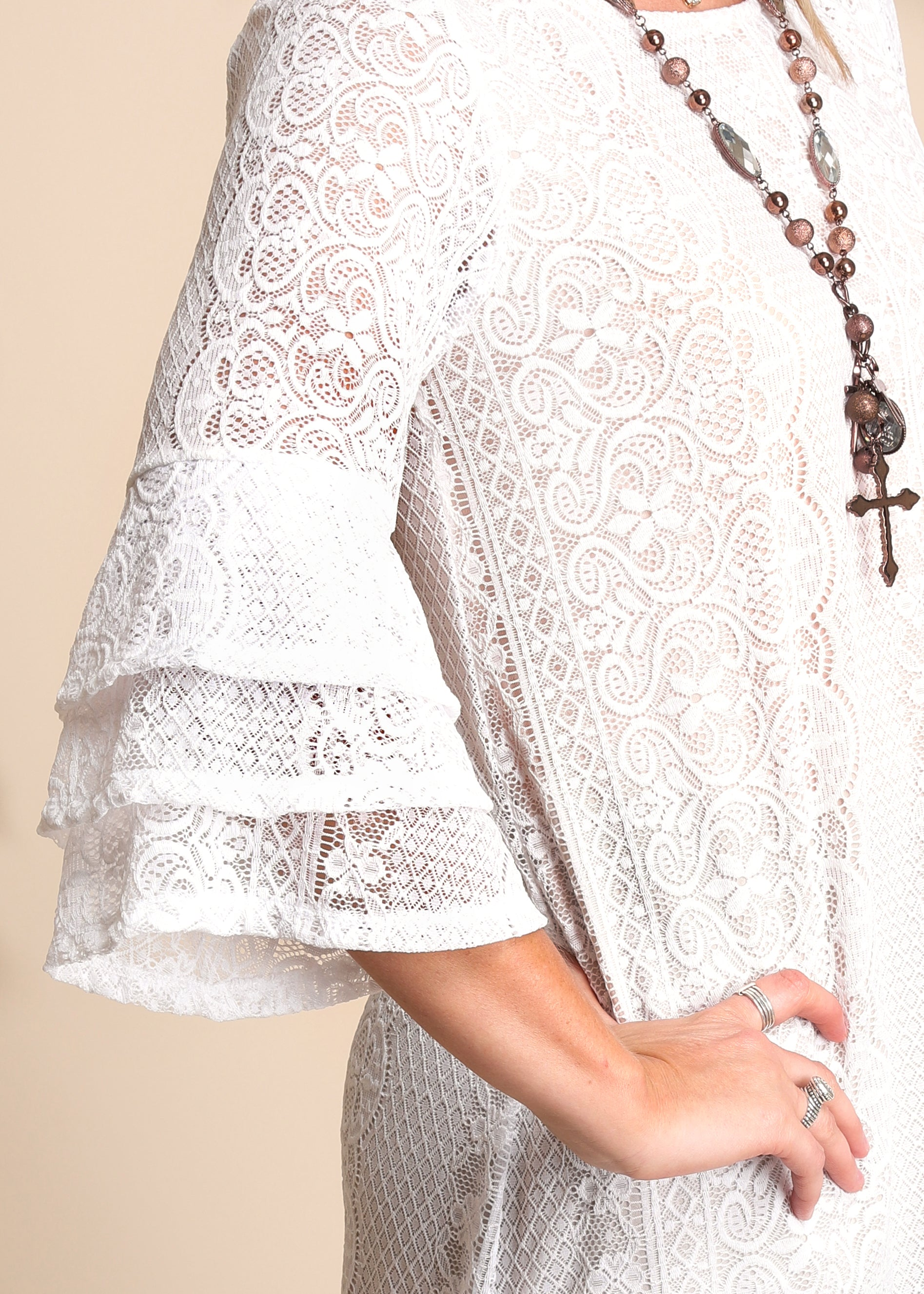 Heaven Sent Lace Dress