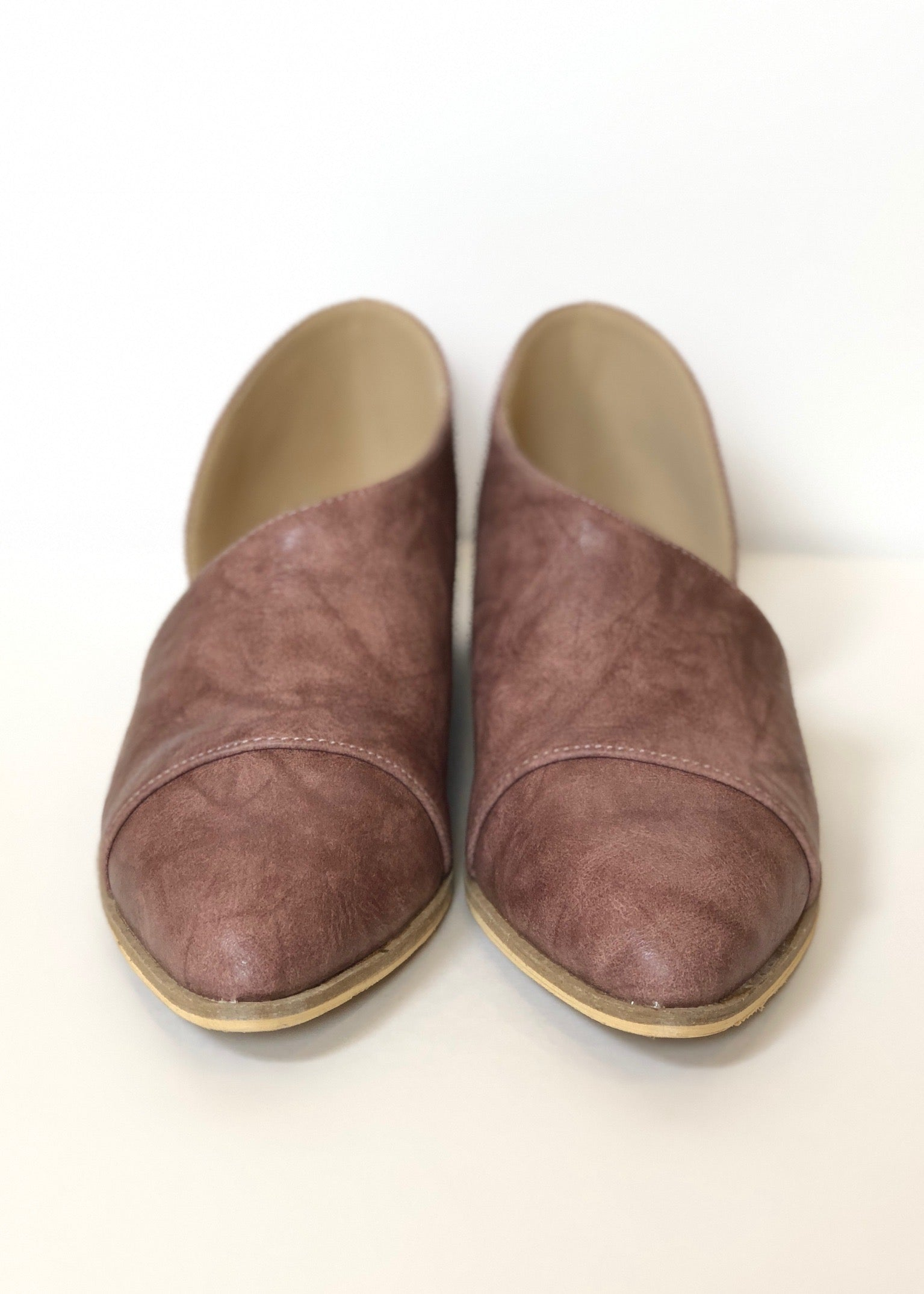 Carter Slip On Low Bootie - MAUVE