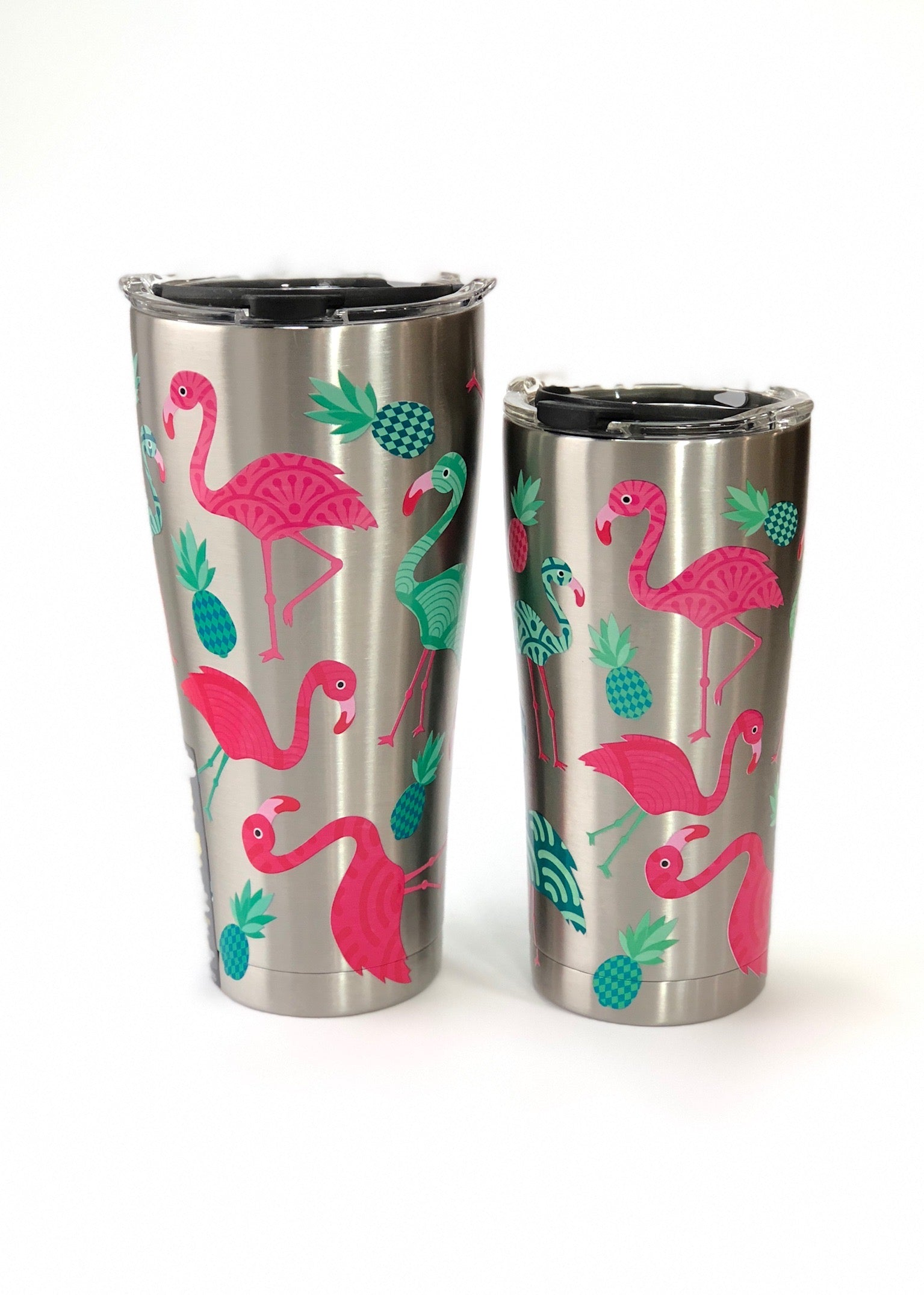 Flamingo Stainless Tumbler by Tervis