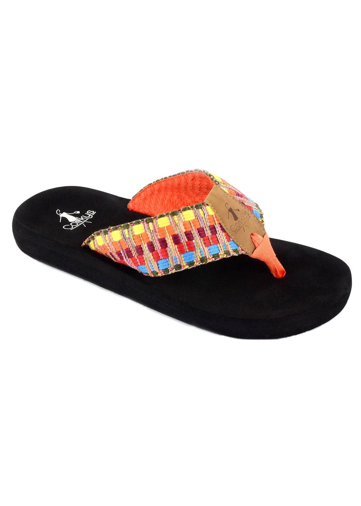Bonnie Flip Flops by Corkys-BRIGHT MULTI