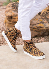 Load image into Gallery viewer, Hunt Sneaker by Corkys -LEOPARD - FINAL SALE