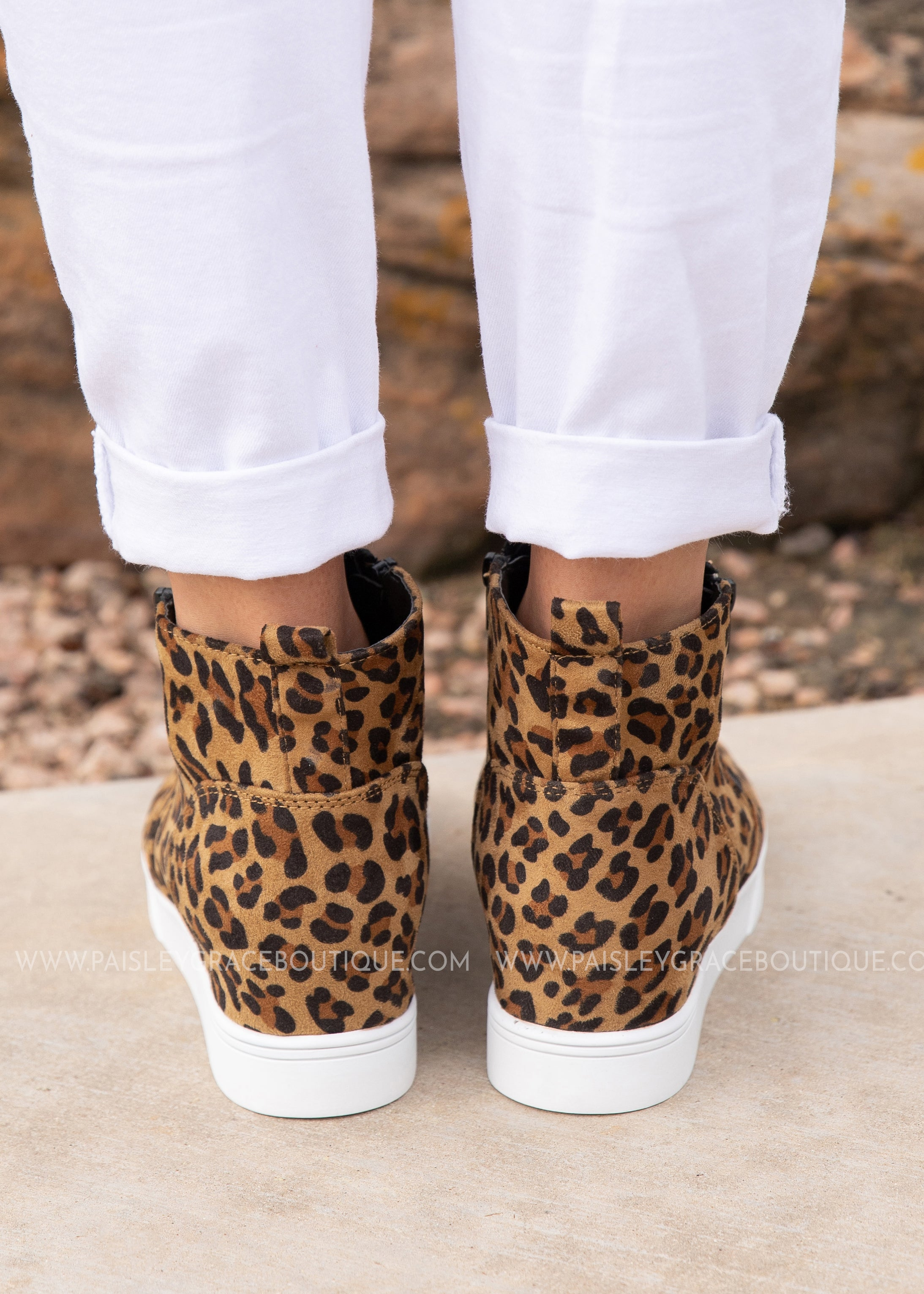 Hunt Sneaker by Corkys -LEOPARD