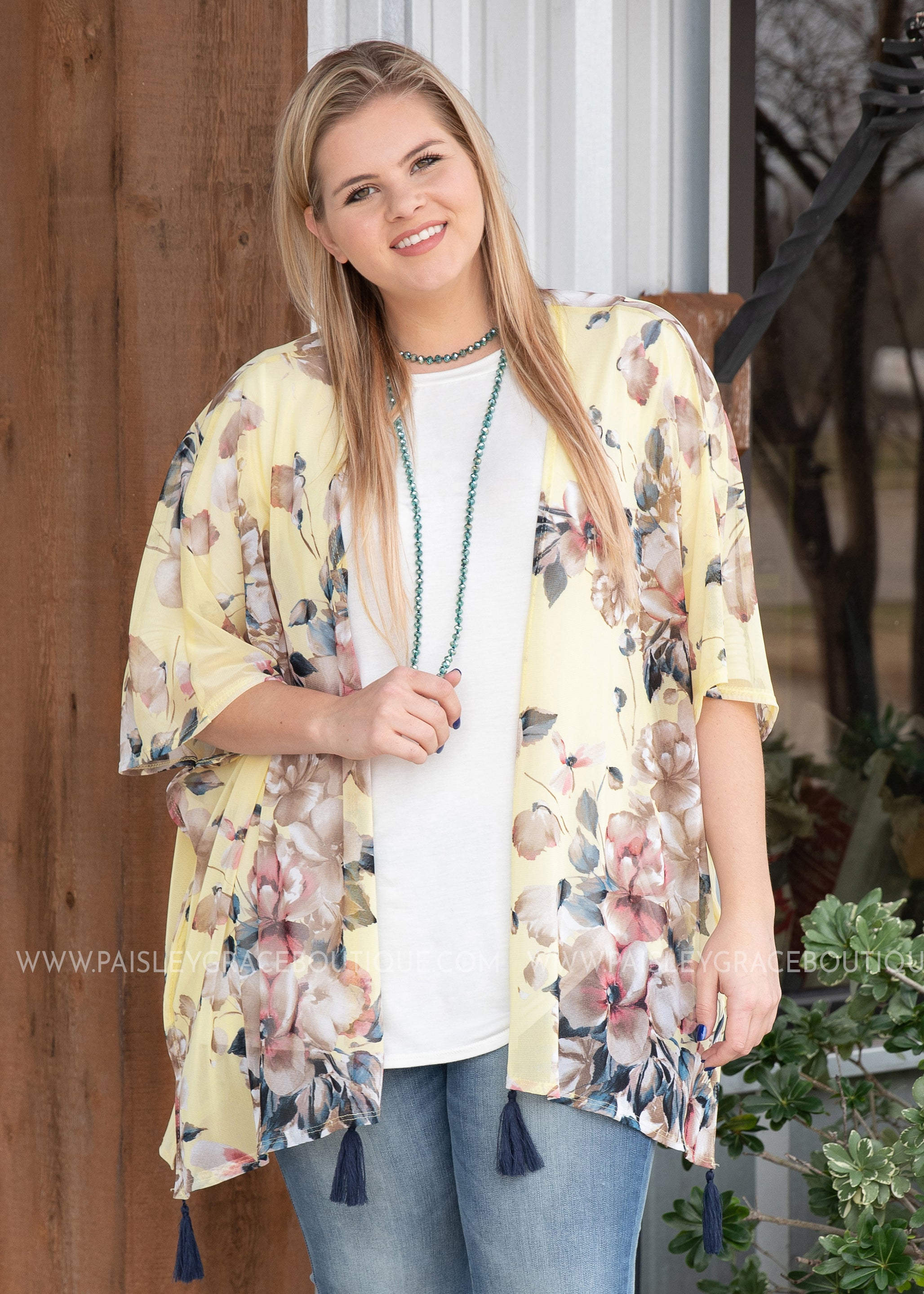 Meet Me in the Garden Kimono - FINAL SALE