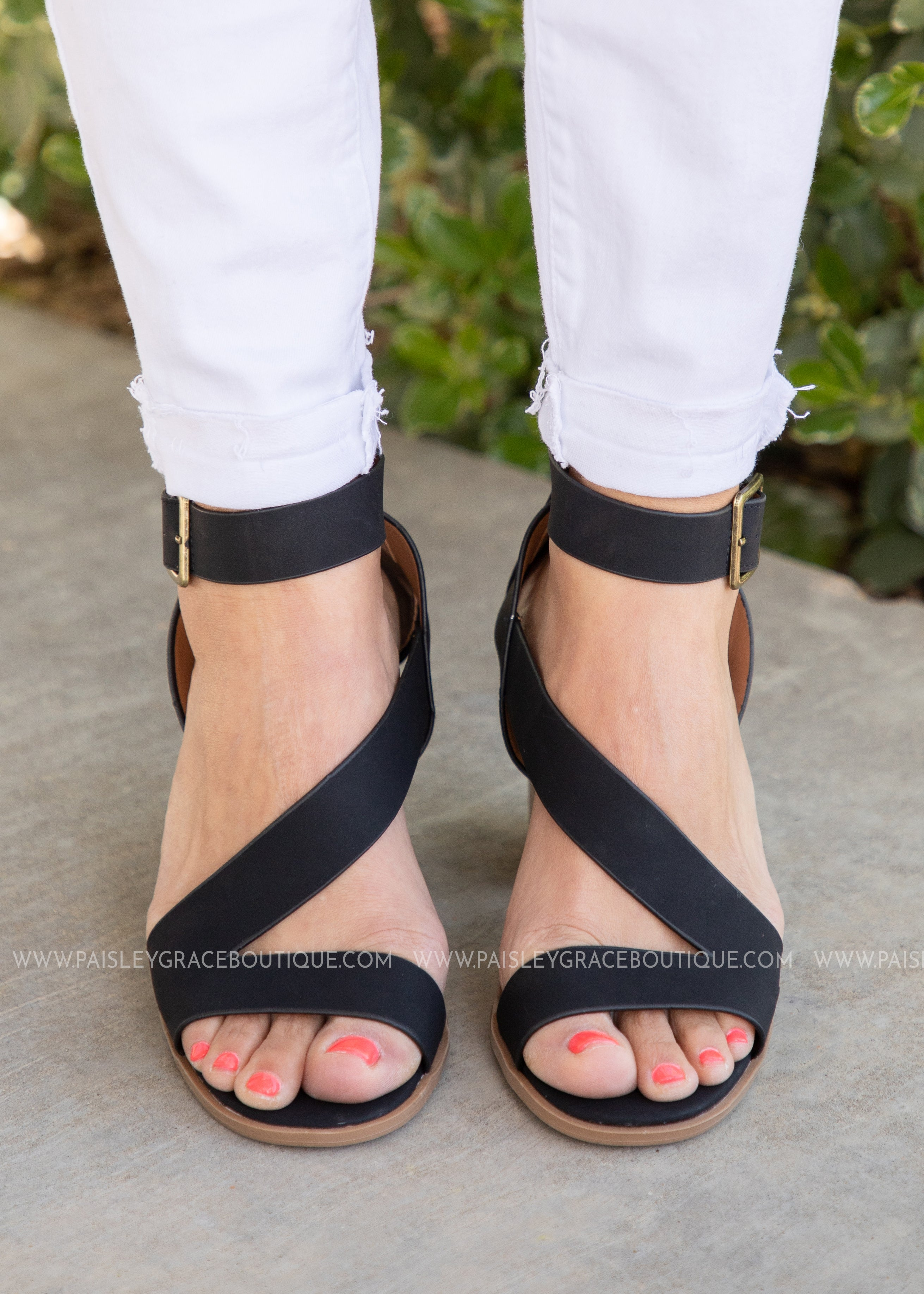 Claire Strappy Heel