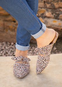 On Point Leopard Flat - FINAL SALE