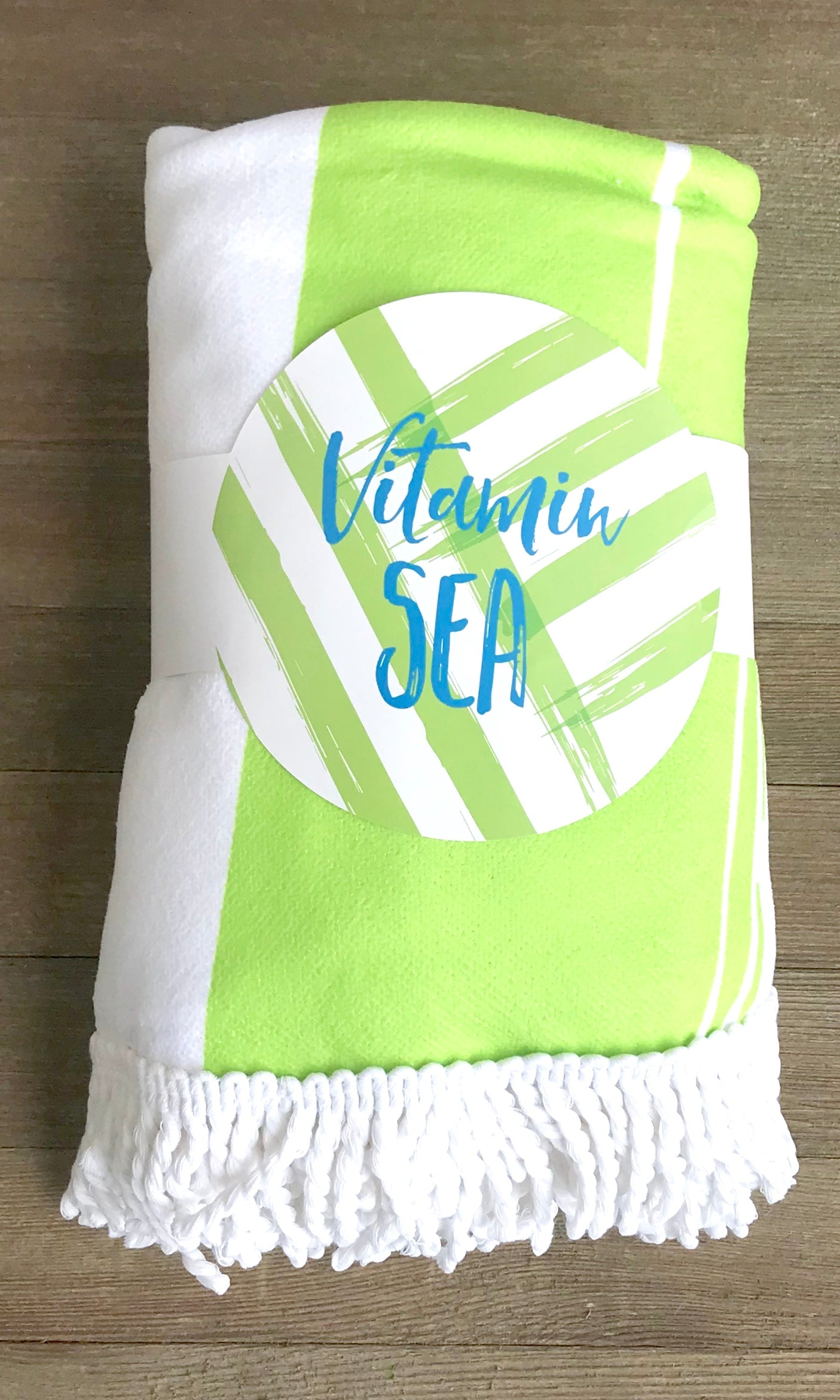 Vitamin Sea Beach Towel