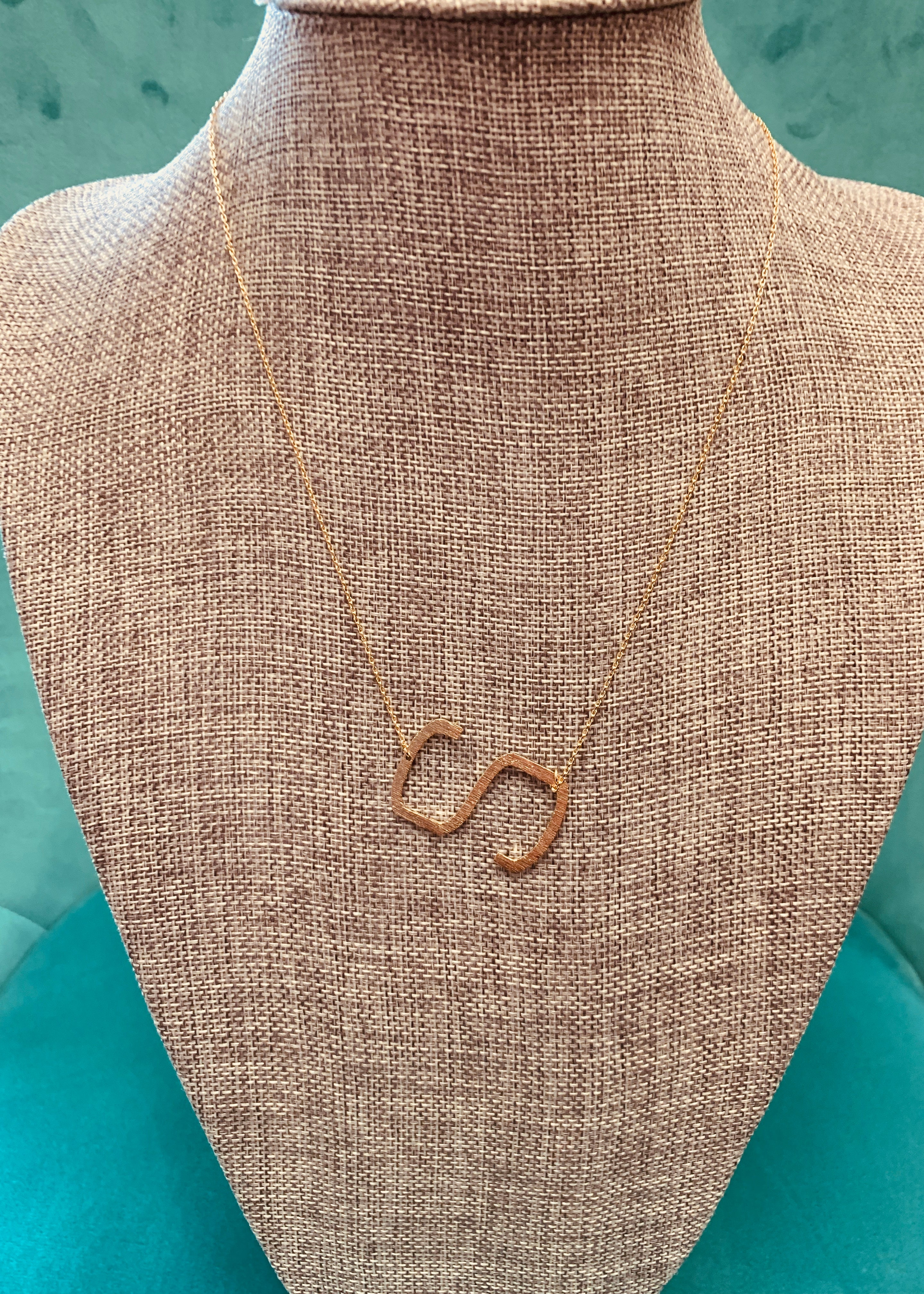 Initial Necklaces - 16 Letters Available