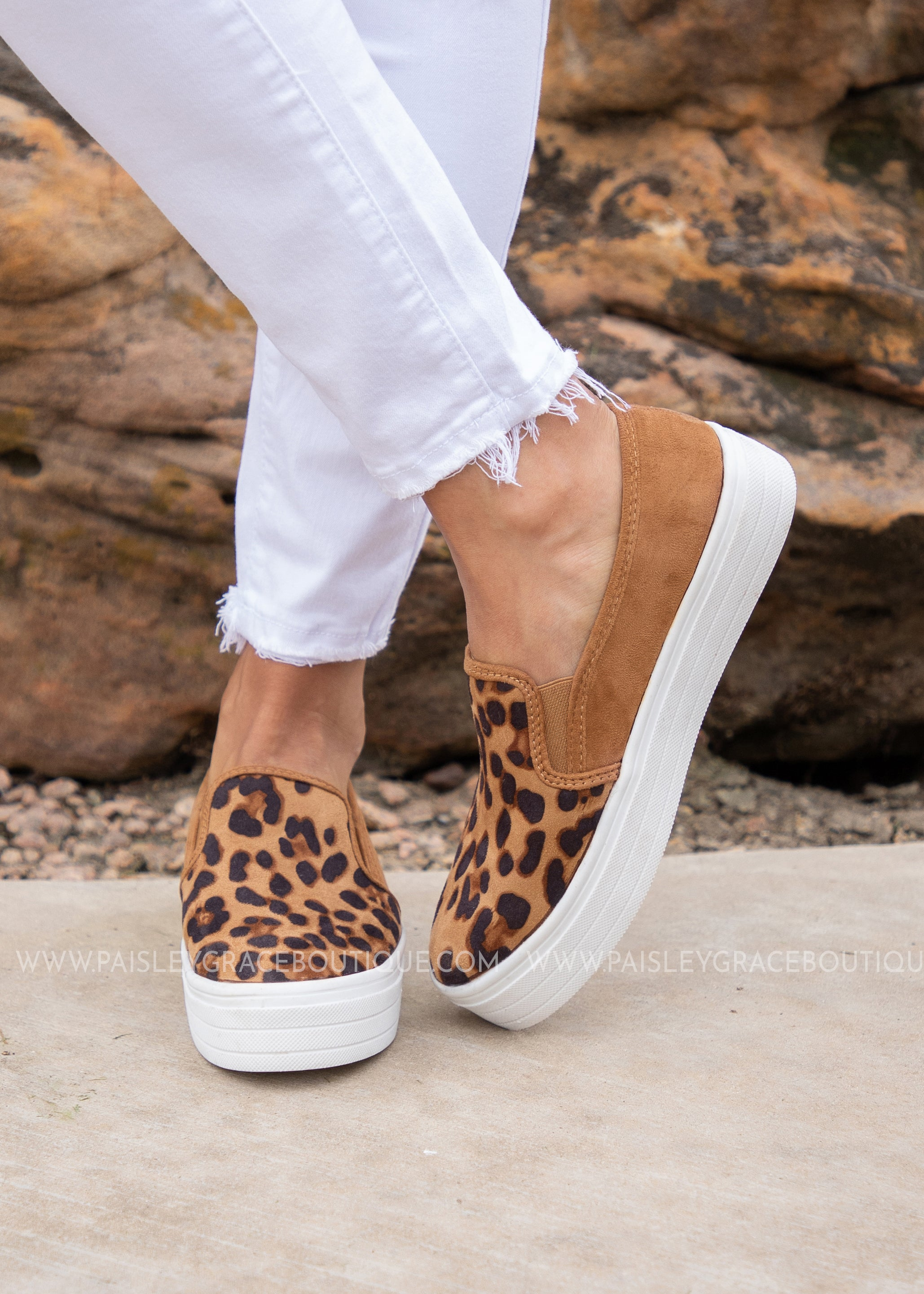 Ellie Slip On Sneaker - LEOPARD