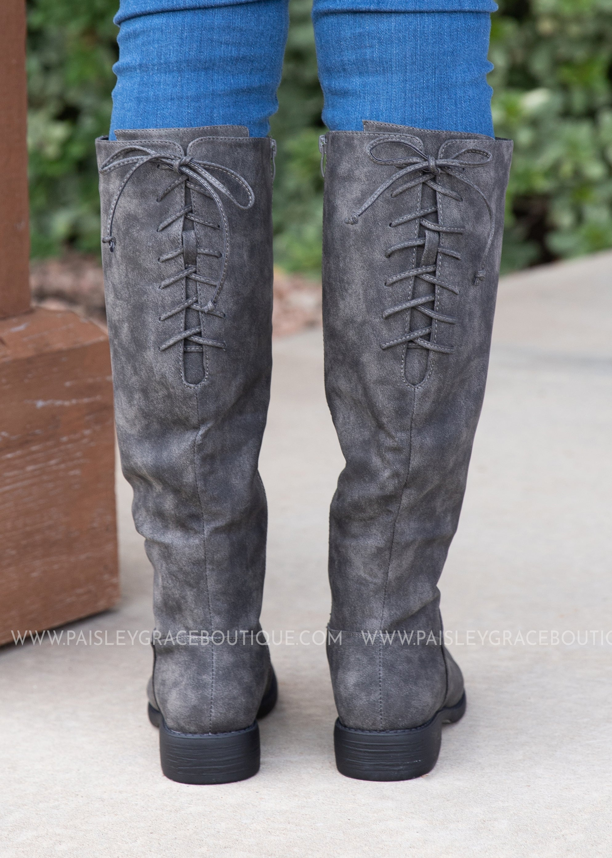 Ventura Boot by Corkys-GREY DISTRESSED-RESTOCKED
