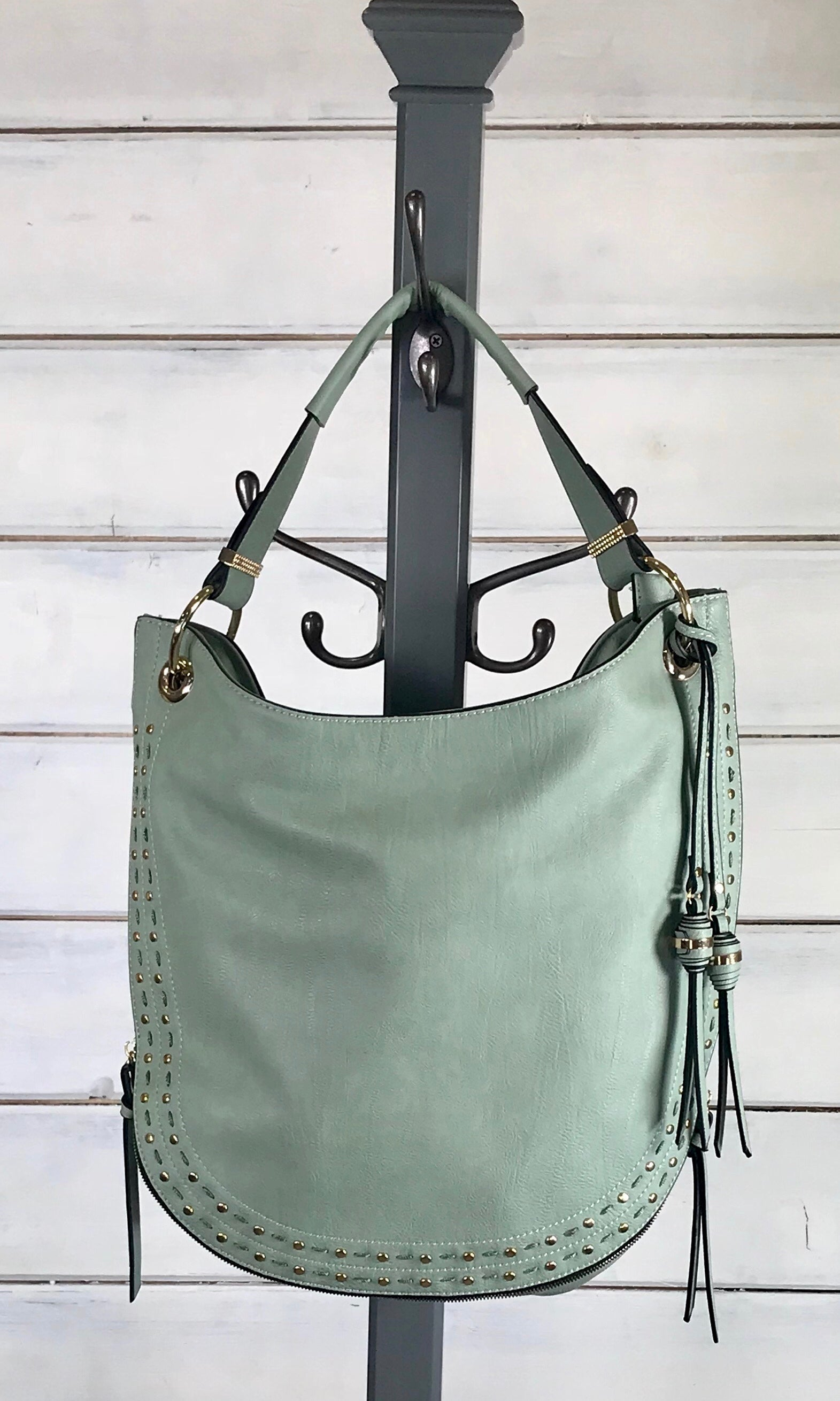 Haven Hobo Bag - Sage