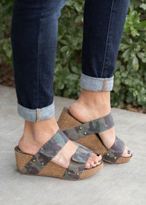 Dina Wedge by Corkys-CAMO