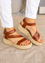 Load image into Gallery viewer, Chloe Espadrille Wedge Sandal
