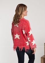 Load image into Gallery viewer, Written In The Stars Sweater- CORAL - FINAL SALE