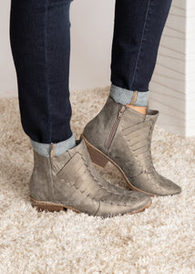 Isabel Bootie-GREY  - FINAL SALE