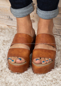 Shamrock Wedge by Corkys-COGNAC