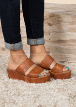 Load image into Gallery viewer, Shamrock Wedge by Corkys-COGNAC