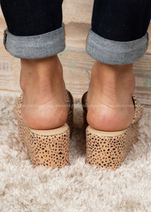 Shamrock Wedge by Corkys-BROWN SPECKLED