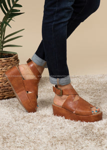 Marseille Wedge by Corkys-COGNAC