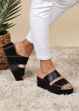 Load image into Gallery viewer, Shamrock Wedge by Corkys-BLACK