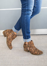 Load image into Gallery viewer, Percy Leopard Bootie - DOORBUSTER