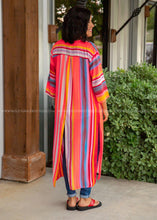 Load image into Gallery viewer, Sun Kissed Striped Duster - FINAL SALE