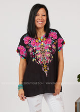 Load image into Gallery viewer, Best In Bloom Embroidered Top